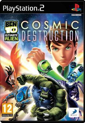 Ben 10 Ultimate Alien: Cosmic Destruction PS2  - Magazin Jocuri PS2 Actiune