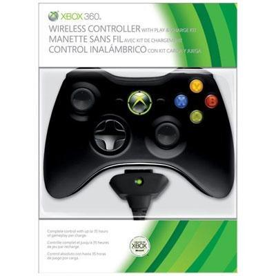 Xbox 360 Wireless Controller Play and Charge Kit - Magazin Jocuri Accesorii Xbox 360