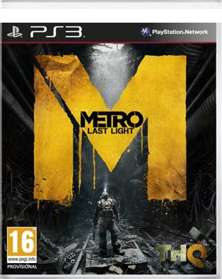Metro Last Light PS3 - 4games.ro Magazin Online Jocuri - Magazin Jocuri PS3 First Person Shooter