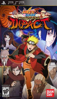 Naruto Shippuden Ultimate Ninja Impact PSP - Magazin Jocuri PSP Fighting