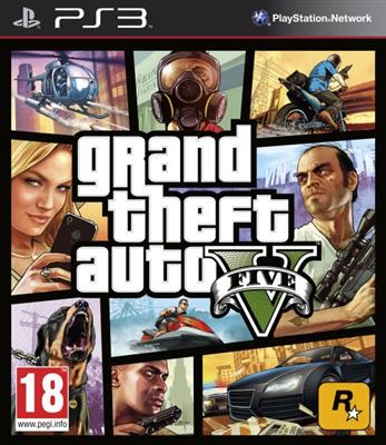 GTA Grand Theft Auto V (5) Ps3 - GTA 5 - Magazin online - Magazin Jocuri PS3 Actiune