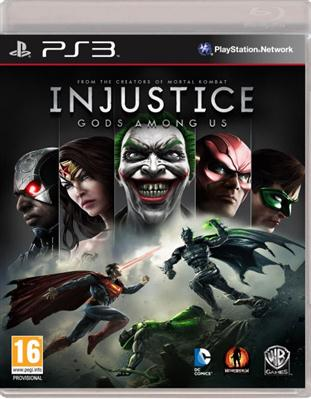 Injustice Gods Among Us PS3 - 4games Magazin de jocuri PS3 XBOX 360 PC WII PSP
