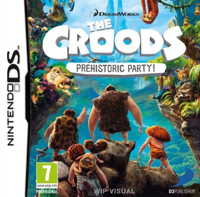 The Croods Prehistoric Party Nintendo DS - 4games.ro Magazin Jocuri Online