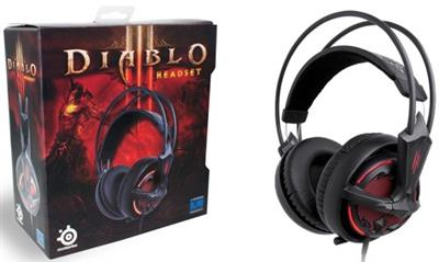 SteelSeries Diablo 3 Headset - 4games.ro Magazin Jocuri Online Headsets Casti
