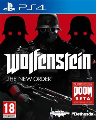 Wolfenstein The New Order PS4 - 4games.ro Magazin Jocuri Online Diverse Titluri