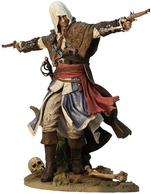 "Figurina Assassin's Creed IV Black Flag Edward Kenway ""The Assassin Pirate""  - 4games.ro Magazin Jocuri Online"
