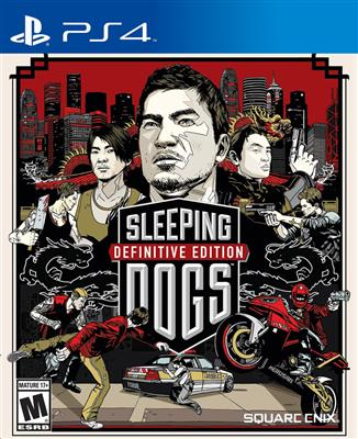 Sleeping Dogs Definitive Edition PS4 - Magazin Jocuri PS4 Actiune